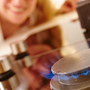 Erdgas im Haushalt