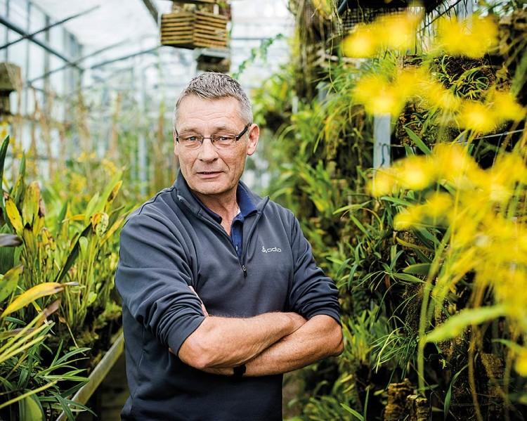 Ulrich Rösemann, technischer Leiter des Botanischen Gartens Osnabrück