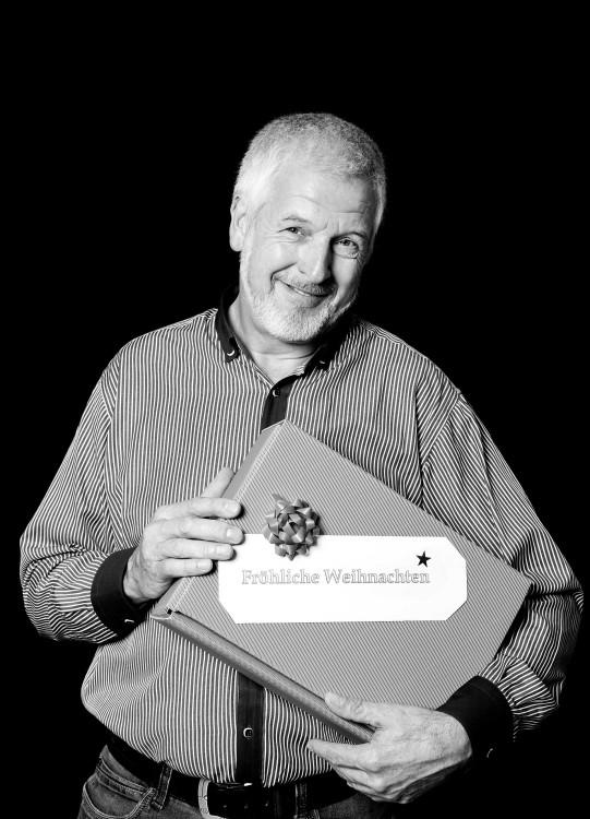 Weihnachten im Einsatz: Hartmut Schaefer