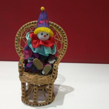 Weihnachtsgeschenk Clown
