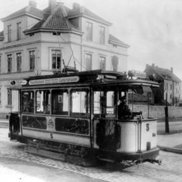 Straßenbahndepot Lotterstr. 1906