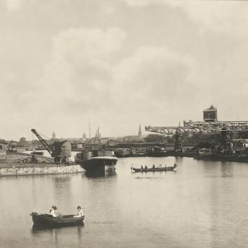 Ausflugsboote Hafen Osnabrück