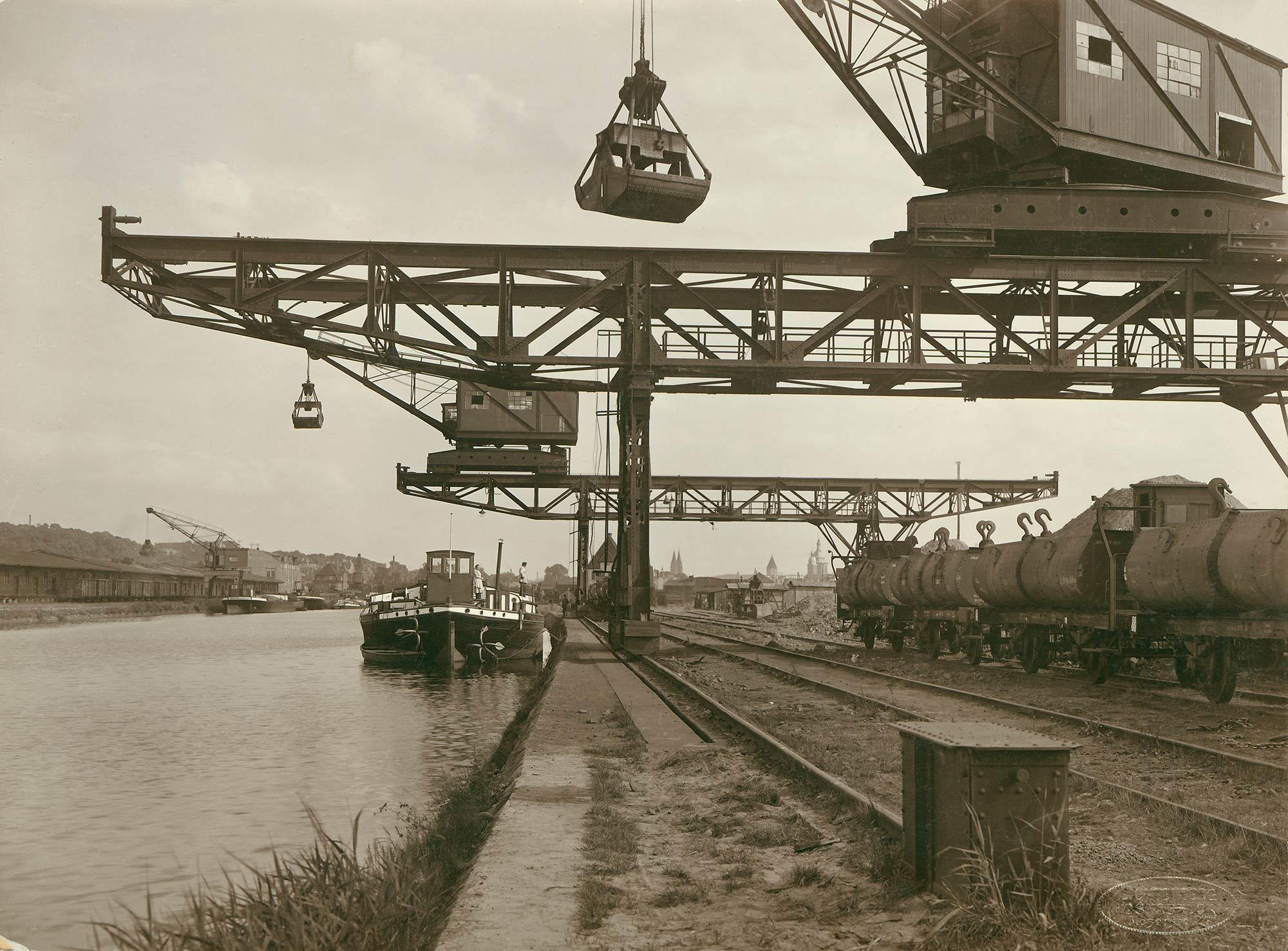 Unser Osnabrücker Hafen wird 100 Jahre | Blog der Stadtwerke Osnabrück