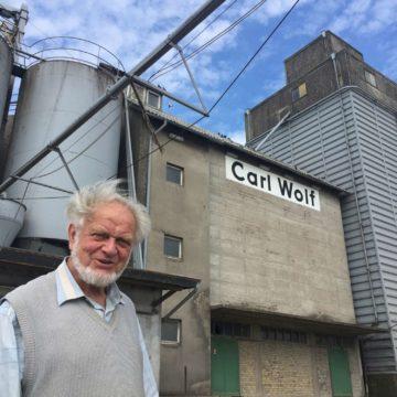 100 Jahre Hafen Porträt Hermann Wolf