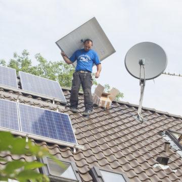 Aufbau SOLARkomplett-Anlage