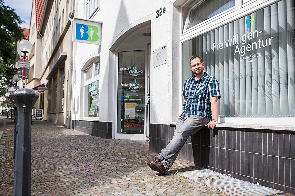 Raphael Dombrowski Freiwilligen Agentur