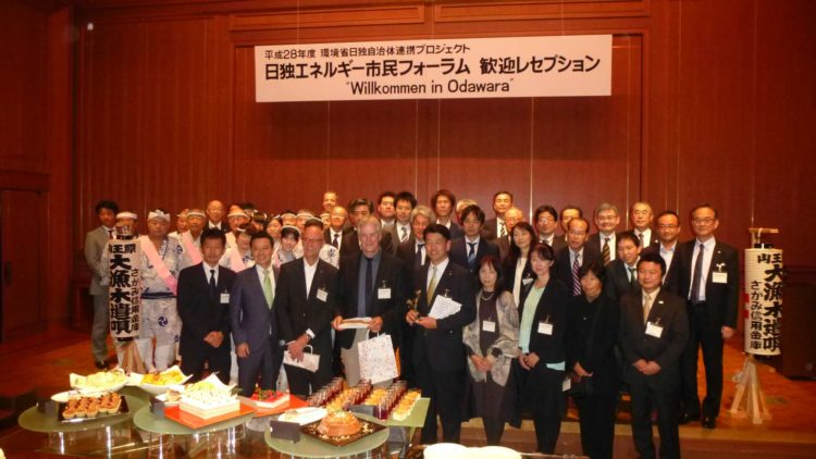 Gruppenfoto Japan