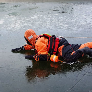 Eisrettung Feuerwehr