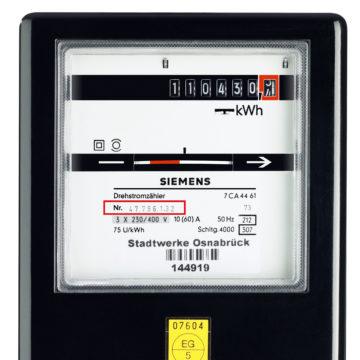 Umzug Stromvertrag