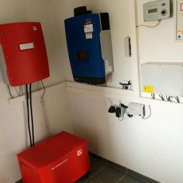 PV Anlage Kita Lüstringen
