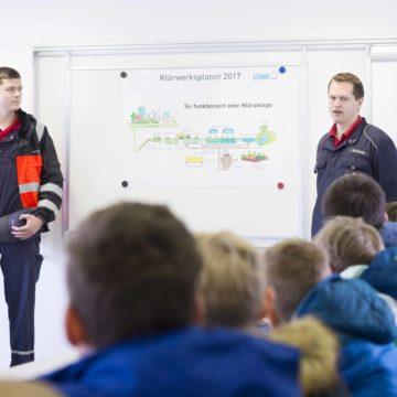 Schulführung Klärwerk Hellern