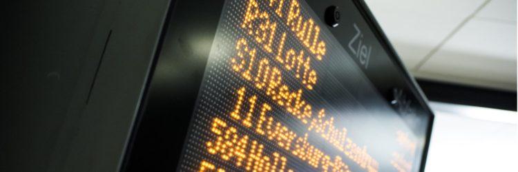 Fahrgastinformation Bus
