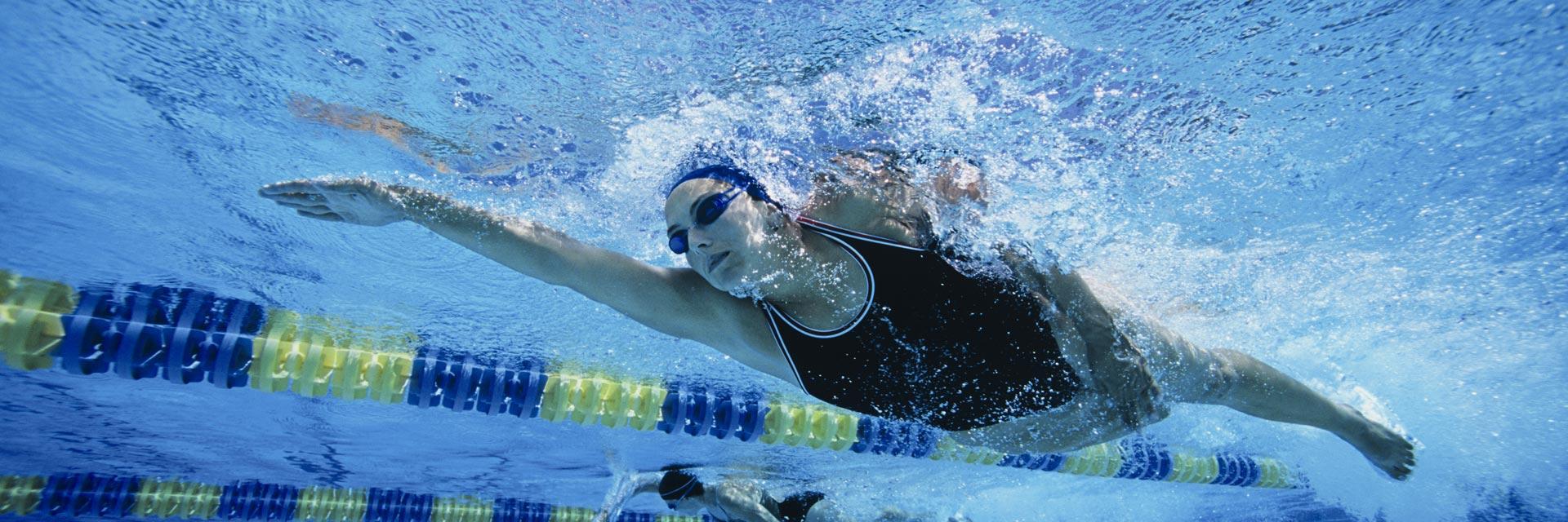Wettkampf Schwimmen