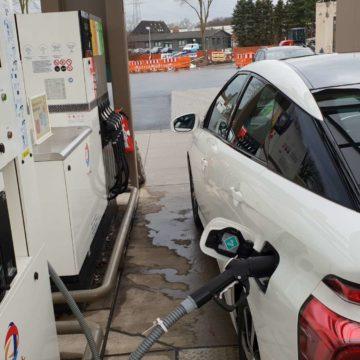 Selbsttest Wasserstoffauto