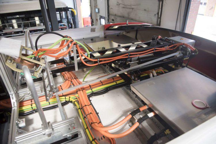 Pantograph Dach E-Bus