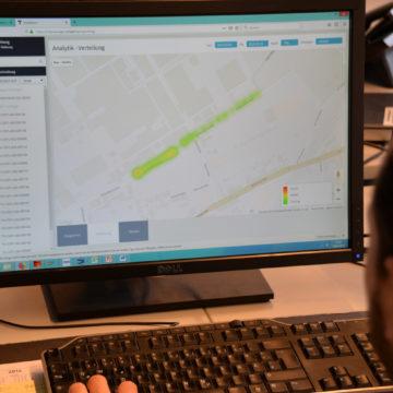 Straßenbeleuchtung Radschnellweg Technik