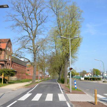 Straßenbeleuchtung Schlachthofstraße Fußgängerüberweg
