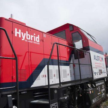 Hybridlok Hafen