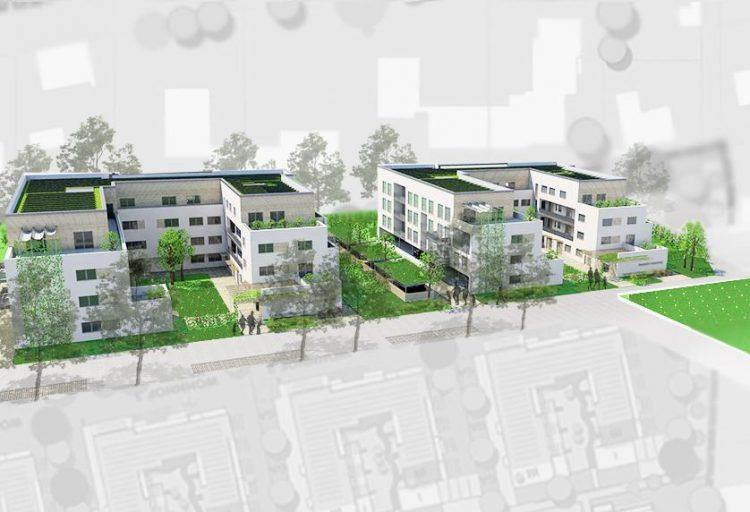 Entwurfsplanung Wohnprojekt Große Eversheide